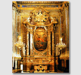 La cappella di San Michele Arcangelo del Santuario di Sommariva del Bosco
